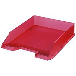 Ladica za spise classic Herlitz 10653814 prozirno crvena!!