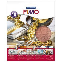 Listići metalni za mase za modeliranje metalni Fimo Staedtler 8781-26 bakreni blister!!