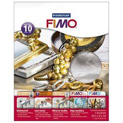 Listići metalni za mase za modeliranje metalni Fimo Staedtler 8781-81 srebrni blister!!