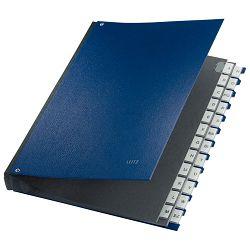 Mapa potpisna A-Z Leitz 59240035 plava