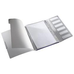 Mapa za odlaganje spisa 6 pregrada s gumicom i klapnom Style Leitz 39950069 tamno plava