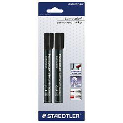 Marker permanentni 2mm pk2 Lumocolor Staedtler 352-9BK2DA crni blister