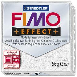 Masa za modeliranje   56g Fimo Effect Staedtler 8020-052 glitter bijela