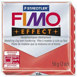 Masa za modeliranje   56g Fimo Effect Staedtler 8020-204 prozirno crvena