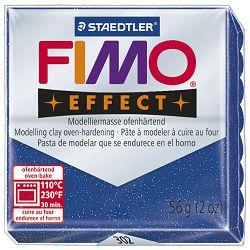 Masa za modeliranje   56g Fimo Effect Staedtler 8020-302 glitter plava
