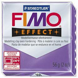 Masa za modeliranje   56g Fimo Effect Staedtler 8020-604 prozirno ljubičasta