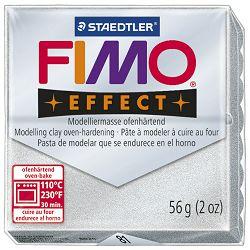Masa za modeliranje   56g Fimo Effect Staedtler 8020-81 metalik srebrna