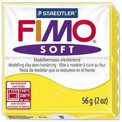 Masa za modeliranje   56g Fimo Soft Staedtler 8020-10 limun žuta