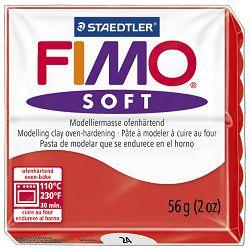 Masa za modeliranje   56g Fimo Soft Staedtler 8020-24 indian crvena