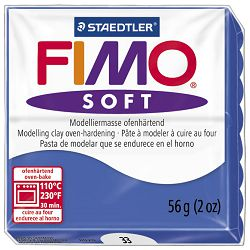 Masa za modeliranje   56g Fimo Soft Staedtler 8020-33 briljantno plava