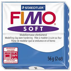 Masa za modeliranje   56g Fimo Soft Staedtler 8020-37 pacific plava