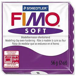 Masa za modeliranje   56g Fimo Soft Staedtler 8020-61 ljubičasta