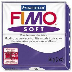 Masa za modeliranje   56g Fimo Soft Staedtler 8020-63 boja šljive