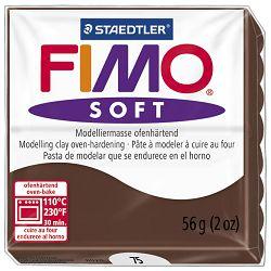 Masa za modeliranje   56g Fimo Soft Staedtler 8020-75 boja čokolade