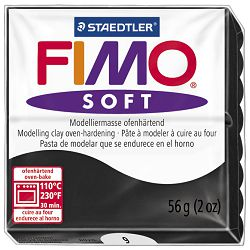 Masa za modeliranje   56g Fimo Soft Staedtler 8020-9 crna