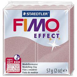 Masa za modeliranje   57g Fimo Effect Staedtler 8020-207 sedef roza