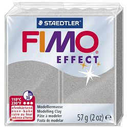 Masa za modeliranje   57g Fimo Effect Staedtler 8020-817 srebrna