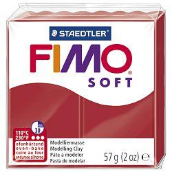 Masa za modeliranje   57g Fimo Soft Staedtler 8020-2P crvena