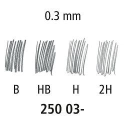 Mine 0,3mm HB 1tuba Staedtler 250 03-HB
