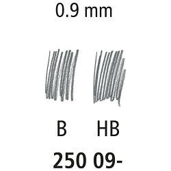 Mine 0,9mm HB 1tuba Staedtler 250 09-HB