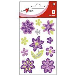 Naljepnice dječje-glitter cvjetovi Herlitz 11311511 blister!!