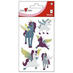 Naljepnice dječje-glitter konjići Herlitz 11311693 blister!!