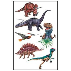 Naljepnice dječje-Tattoo dinosauri Herlitz 11258811 blister!!