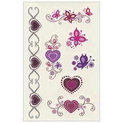 Naljepnice dječje-Tattoo srca/leptiri Herlitz 11258126 blister!!
