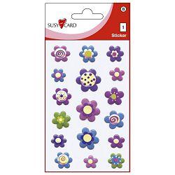 Naljepnice dječje 3D cvjetovi Herlitz 11311768 blister!!