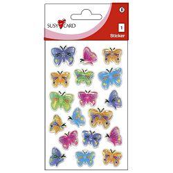 Naljepnice dječje 3D leptiri Herlitz 11257995 blister!!