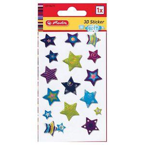 Naljepnice dječje 3D zvijezde Herlitz 10918670!!