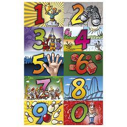 Naljepnice dječje brojevi veliki Herlitz 11258316 blister!!