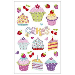 Naljepnice dječje kolači Herlitz 11420874 blister!!