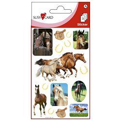 Naljepnice dječje konji Herlitz 11262771 blister!!