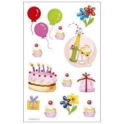 Naljepnice dječje rođendan Herlitz 11259801 blister!!