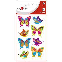 Naljepnice ukrasne-glitter leptiri Herlitz 11259470 blister!!