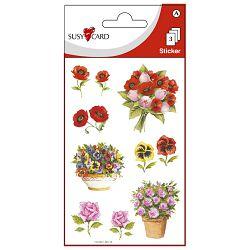 Naljepnice ukrasne cvijeće Herlitz 11259371 blister!!