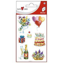 Naljepnice ukrasne happy birthday slike Herlitz 11259991 blister!!