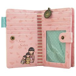 Novčanik umjetna koža zip+gumb Seven sisters Gorjuss 342GJ14