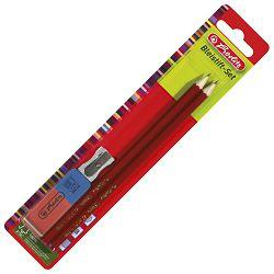Olovka grafitna HB gumica+šiljilo pk2 Herlitz 8670705 blister!!
