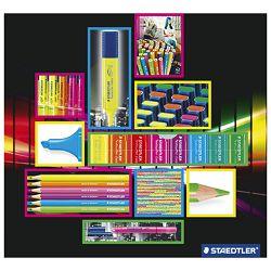 Olovka grafitna HB Wopex Neon pk3 Staedtler 180F BK3-2