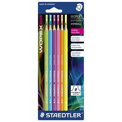 Olovka grafitna HB Wopex Neon pk6 Staedtler 180F BK6