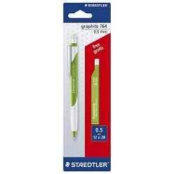 Olovka tehnička 0,5mm Graphite 764+mine gratis Staedtler 7645ABK25!!