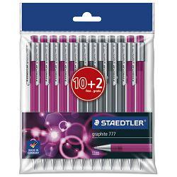 Olovka tehnička 0,5mm Graphite pk12 Staedtler 777PB12PL sortirano blister!!