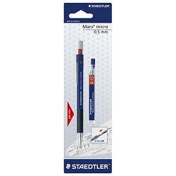 Olovka tehnička 0,5mm Mars micro+mine Staedtler 7755BK25DA blister