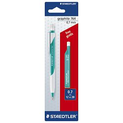 Olovka tehnička 0,7mm Graphite 764+mine gratis Staedtler 7647ABK25!!