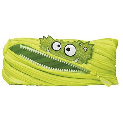 Pernica vrećica/pravokutna Talking Monstars BrightLime Zipit ZTM-AR-GZZ zelena!!