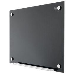 Ploča magnetna  90x60cm staklena Nobo 1903839 crna