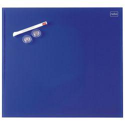 Ploča magnetna  90x60cm staklena Nobo 1903847 plava