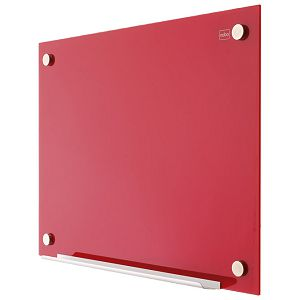 Ploča magnetna 120x90cm staklena Nobo 1903844 crvena